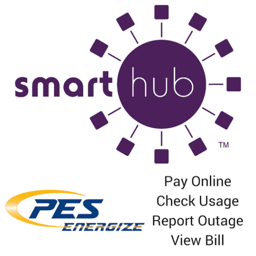 Track your energy use and pay bills with Smart Hub on your Smart Phone or computer