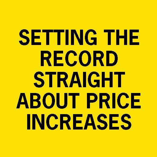 The Truth About Recent Cable Price Increases