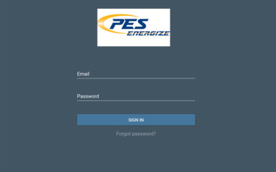 PES Energize Email Changes