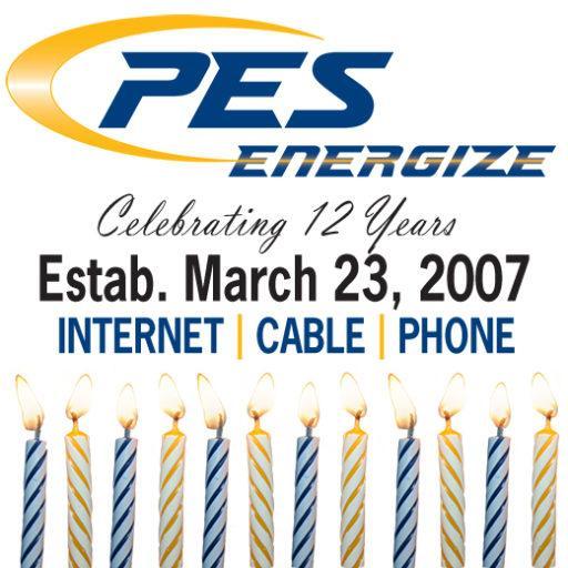 PES Energize 12th birthday