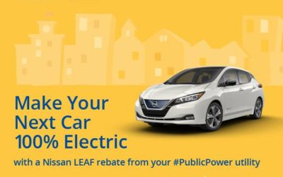 Rebate on Nissan Leaf